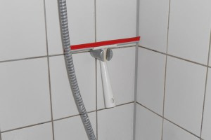 Wischer für die Dusche