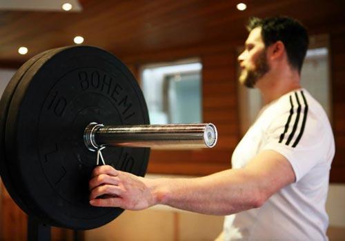 Training ohne viel Schnick Schnack schont das Klima